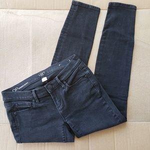 Black Loft Modern Skinny Jeans
